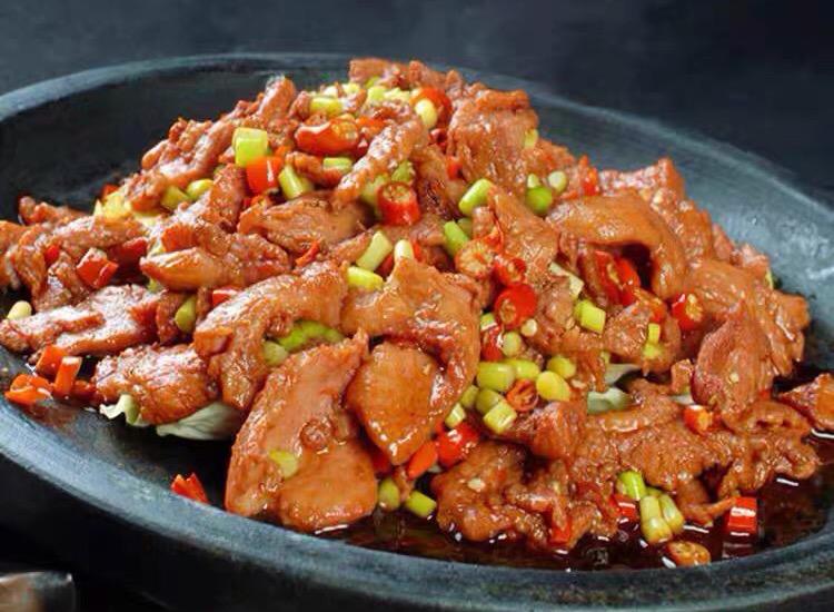 预制菜肴蚝油肉片的制作工艺